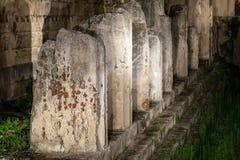 Apollo&#x27 ναός του s, Συρακούσες, Σικελία, Ιταλία Στοκ φωτογραφία με δικαίωμα ελεύθερης χρήσης
