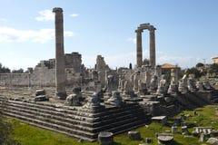 Apollon寺庙 库存图片