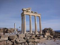 Apollon寺庙  免版税库存照片