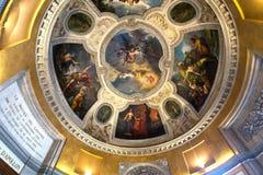 Apollon画廊,天窗,巴黎,法国 免版税库存图片