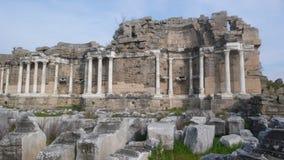 Apollon chapel side. Antique ruins turkey Stock Images