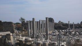 Apollon Chapel. Side turkey ancient ruins Royalty Free Stock Photo