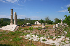 Apollon Smintheus寺庙 库存图片
