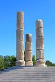 Apollon Smintheus temple near Assos Royalty Free Stock Photo