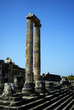 Apollon Temple Royalty Free Stock Photos