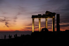 Apollon Temple Stock Photos