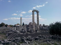 Apollon Temple Stock Image