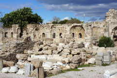 Apollon Temple in Antalya Royalty Free Stock Images