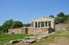 Apollonia, Albania imagen de archivo