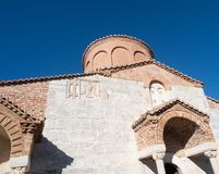 Exterior of the Church of Saint Mary in Apollonia Albania