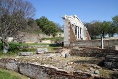 Apollonia - l'Albanie photo libre de droits
