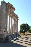 Apollonia Parthenon, Albanië Stock Foto's