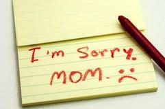 Apologías Imagenes de archivo