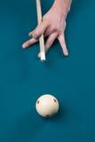 Apontando a esfera de sugestão - vertical Imagem de Stock