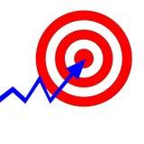 Apontando o alvo Imagens de Stock