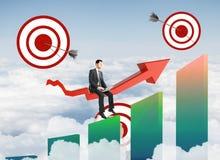 Apontando o conceito Imagens de Stock