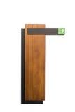 Apontar de madeira vazio dos sinais Imagem de Stock Royalty Free