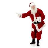 Apontar de Santa Fotos de Stock