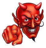 Apontar do diabo Foto de Stock Royalty Free