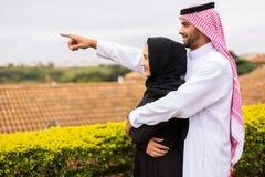 Apontar do Oriente Médio dos pares foto de stock royalty free