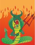 Apop wielki wąż ilustracji