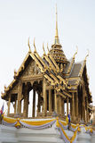 Aporn Pimok Hall in The Grand Palace Bangkok Thailand. Decorated with gold and beautiful patterns Royalty Free Stock Photos