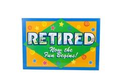 aposentado Imagens de Stock