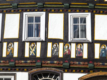 Apostel half timbered house in fairy tale town Royalty Free Stock Image