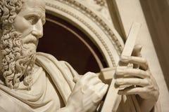 Apostel John i Loreto Italy arkivfoton