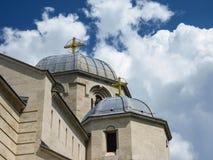 Apostel- och evangelistLuke kyrka royaltyfri bild