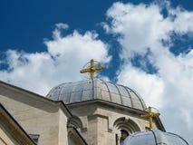 Apostel- och evangelistLuke kyrka royaltyfria foton