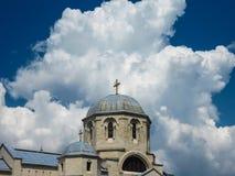 Apostel- och evangelistLuke kyrka arkivbild
