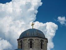 Apostel- och evangelistLuke kyrka fotografering för bildbyråer