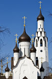 Apostel Peter Church och Belltower i St Petersburg, Ryssland Royaltyfria Foton
