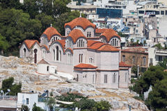 apostelathens kyrklig greece helgedom arkivfoton
