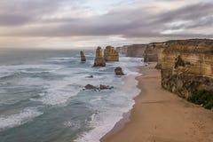 12 apostelen van Australië Stock Fotografie