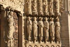 apostels κυρία καθεδρικών ναών notre Στοκ φωτογραφία με δικαίωμα ελεύθερης χρήσης