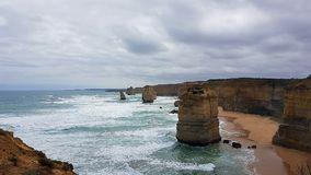 12 Apostels auf großer Ozean-Straße in Australien - Roadtrip Lizenzfreie Stockfotos