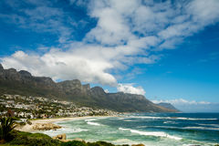 The 12 Apostels in Cape Town South Africa. The 12 Apostels in Cape Town in South Africa Stock Images