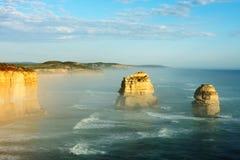 apostlar Australien tolv Royaltyfria Bilder