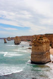 apostlar Australien tolv Royaltyfri Fotografi