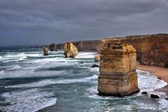 apostlar Australien tolv Royaltyfri Foto