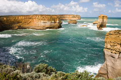 apostlar Australien tolv victoria arkivfoton