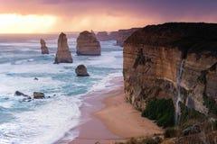 12 apostlar på den stora havvägen Royaltyfria Bilder