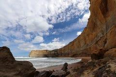 12 apostlar, port Campbell, stor havväg i Victoria, Australien Arkivfoton