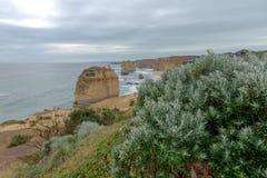 12 apostlar, stor havväg, Victoria Australia Oct 2017 Royaltyfria Foton