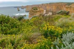 12 apostlar, stor havväg, Victoria Australia Oct 2017 Arkivbilder