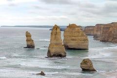 12 apostlar, stor havväg, Victoria Australia Oct 2017 Fotografering för Bildbyråer