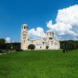 Apostle and Evangelist Luke church. Eastern orthodox church. Belgrade, Serbia royalty free stock photos