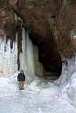 Apostle Islands Ice Caves, Winter Landscape Royalty Free Stock Image